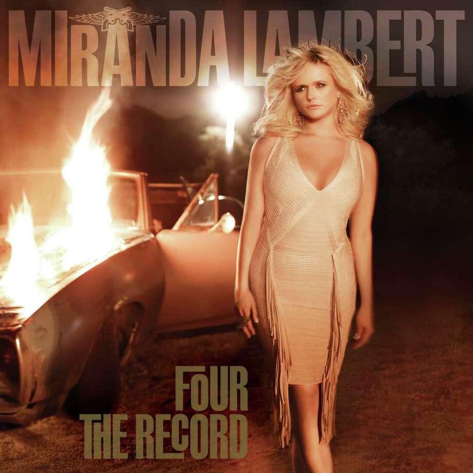 Four the Record, Miranda Lambert. CD cover. Photo: Cd Cover