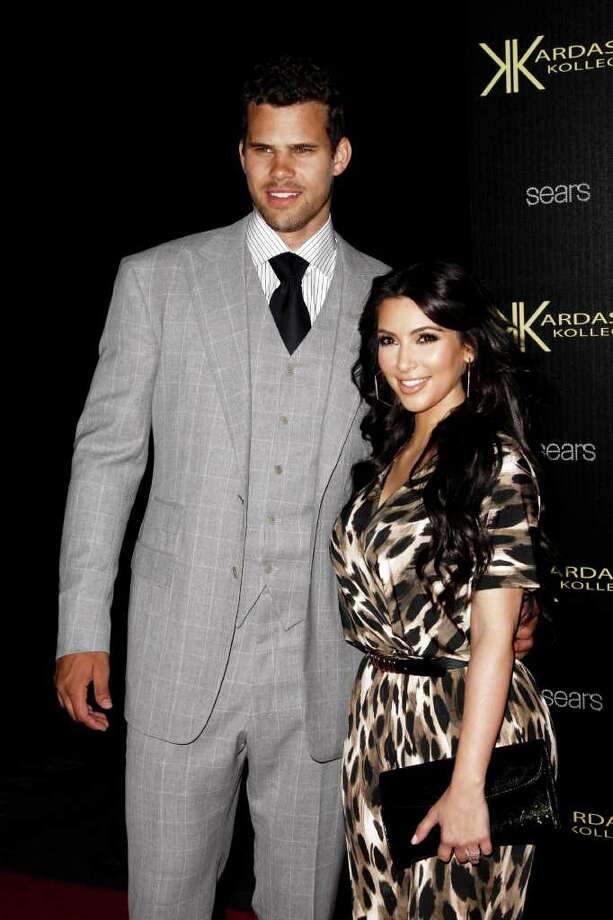 Who: NBA basketball player Kris Humphries and reality TV personality Kim KardashianMarried for: 72 days Photo: Matt Sayles / AP2011