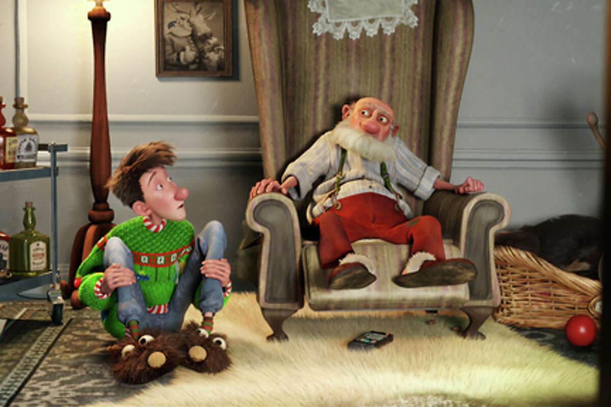 (L-R) Arthur and Grandsanta in