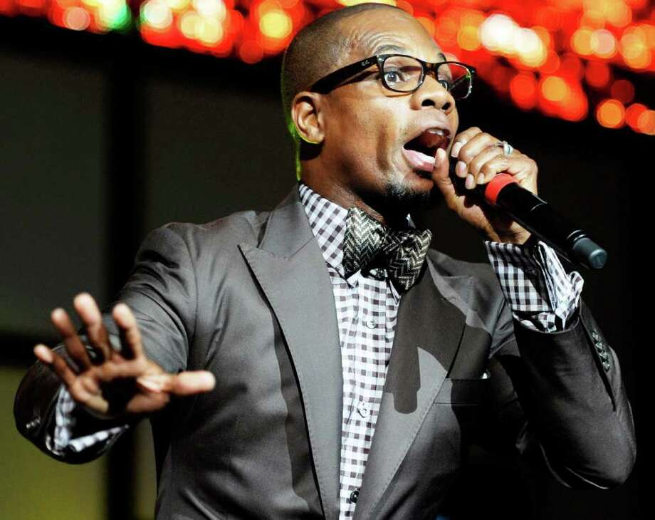 """Gospel artist Kirk Franklin says his Saturday concert will be like a """"gospel Earth, Wind & Fire meets MC Hammer."""" Photo: Ethan Miller, Getty Images / 2011 Getty Images"""