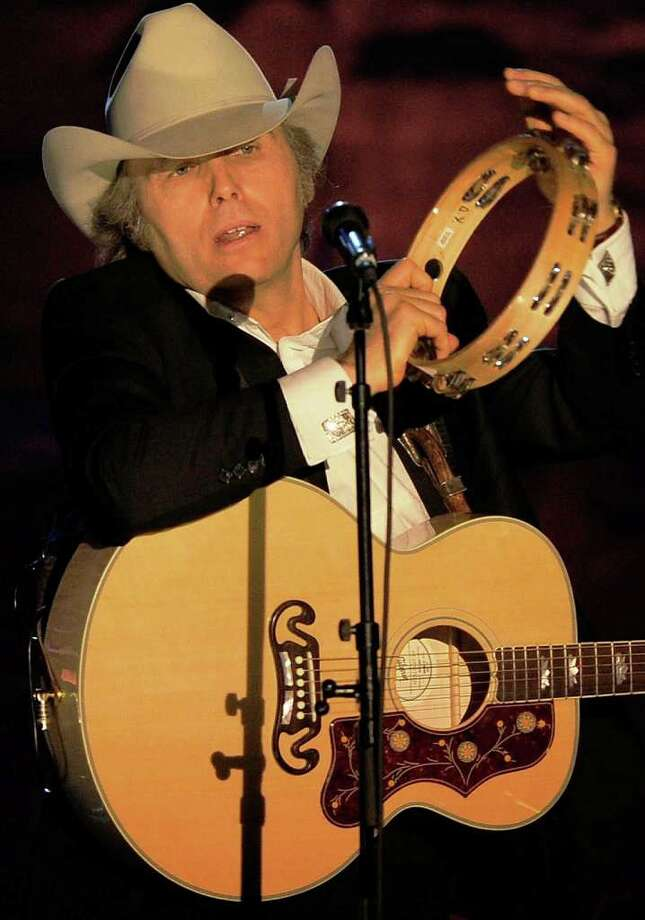 Country singer Dwight Yoakam performs onstage at the Songwriters Hall of Fame 42nd Annual Induction and Awards at The New York Marriott Marquis Hotel - Shubert Alley on June 16, 2011 in New York City. Photo: GETTY IMAGES / 2011 Getty Images
