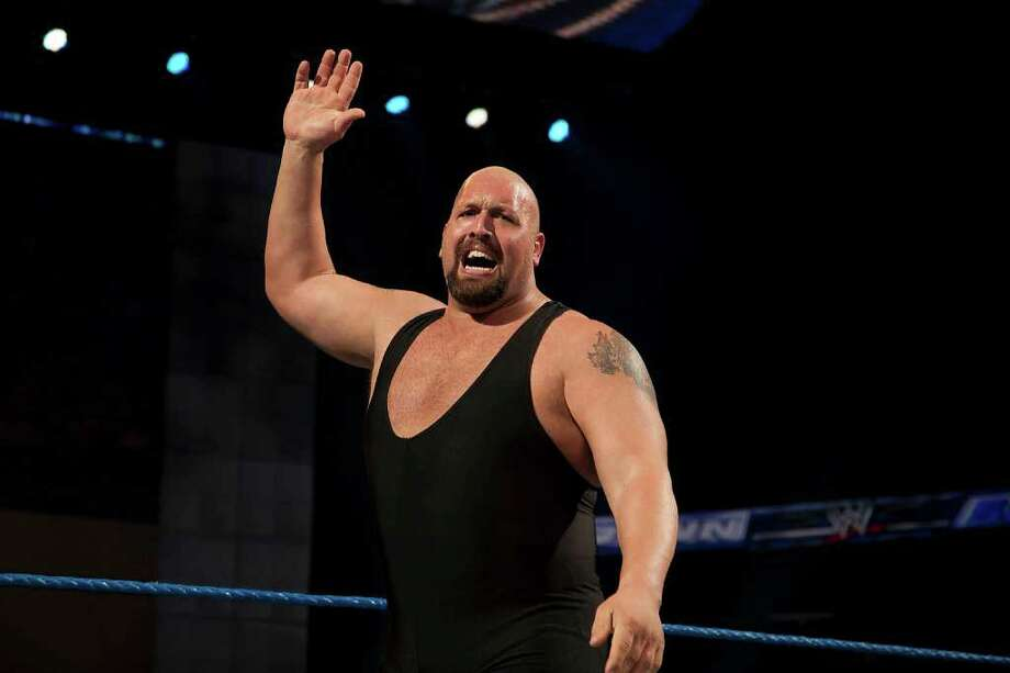 """WWE is apologizing after WWE wrestler Big Show tore down the Russian flag during its """"Monday Night Raw"""" show on Sept. 29, 2014. Photo: Contributed Photo / Connecticut Post Contributed"""