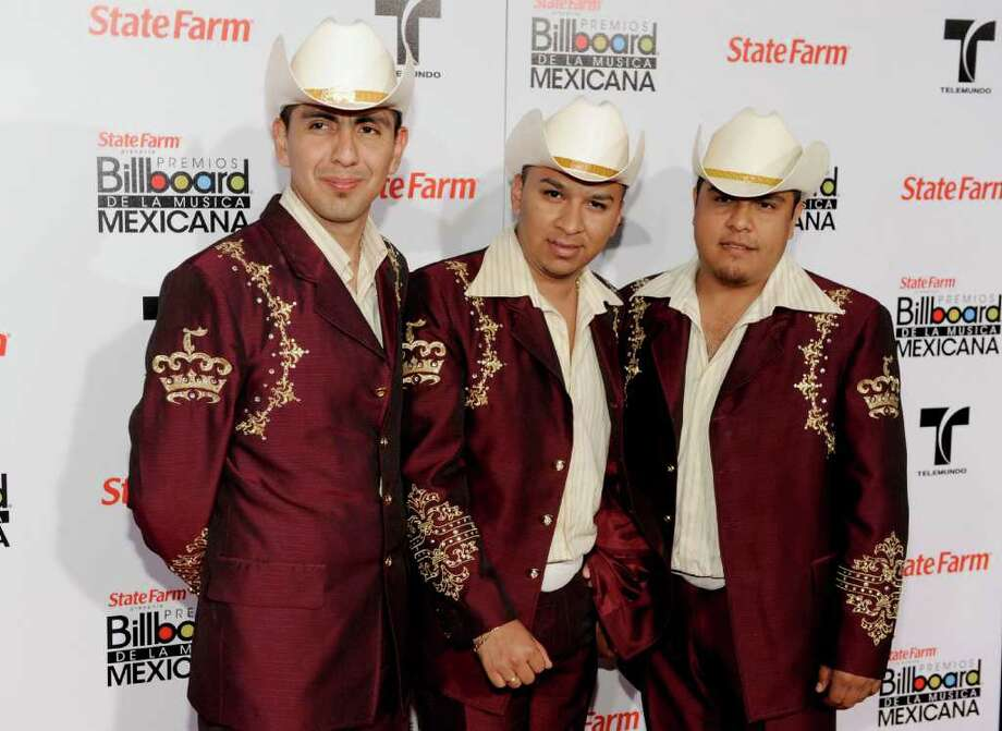"El Trono De México, Feb. 19, 7 p.m. Regional Mexican band topped Billboard's Latin albums chart with its 2010 CD ""Quiero Decirte Que Te Amo."" Last year's ""Sigo Estando Contigo,"" which included the singles ""La Ciudad del Olvido"" and ""No la Voy a Engañar,"" also was a hit. CHRIS PIZZELLO / ASSOCIATED PRESS Photo: AP"