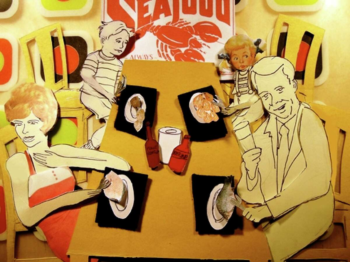 Sabra Booth satirizes the effects of the BP oil spill on the Gulf Coast in