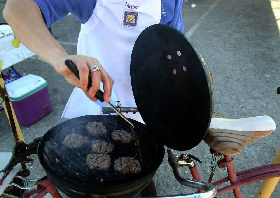 DON'T: Bring the outdoor grill inside to use a source of heat.  Photo: SAN ANTONIO EXPRESS-NEWS