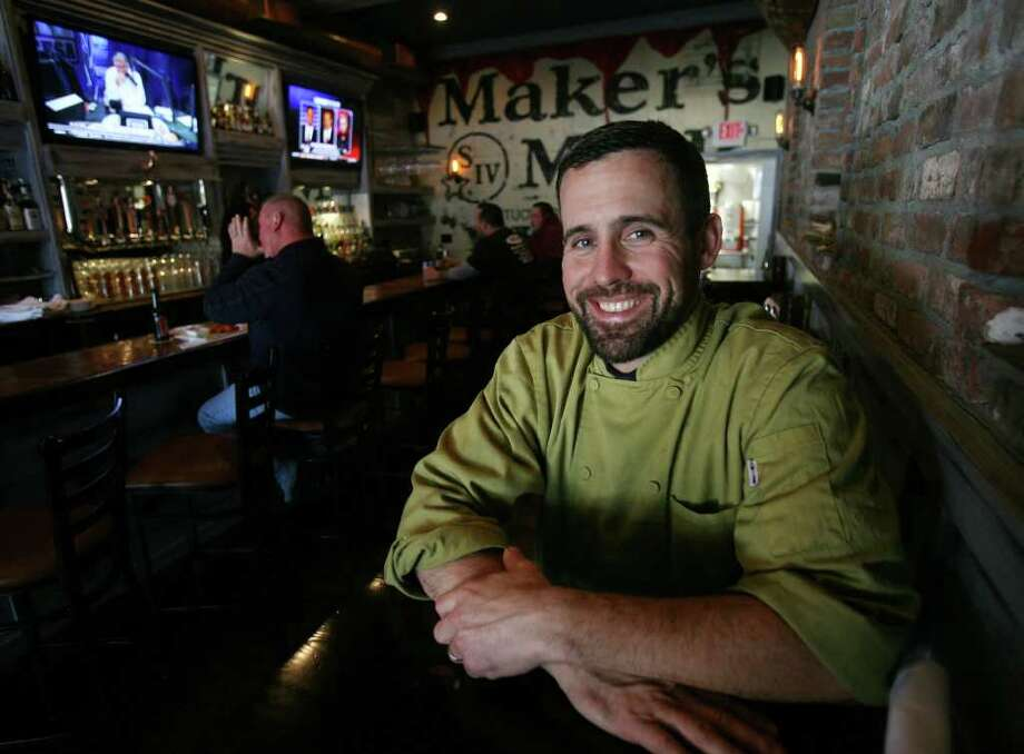 Chef and general manager Jason Hall at The Sitting Duck Tavern at 3694 Main Street in Stratford. Photo: Brian A. Pounds / Connecticut Post