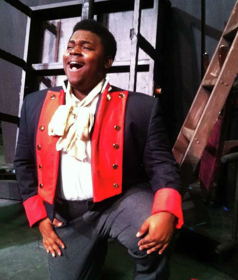 Edwin Bates plays Jean Valjean in the North East School of the Arts staging of 'Les Miserables.' Courtesy of David Connelly