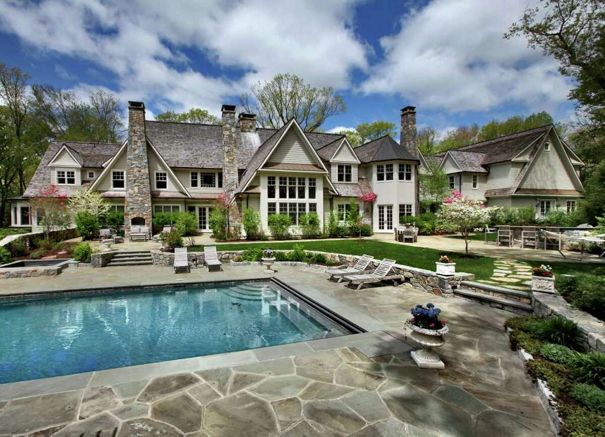 153 Chichester Road in New Canaan was featured on the NBC's tv show