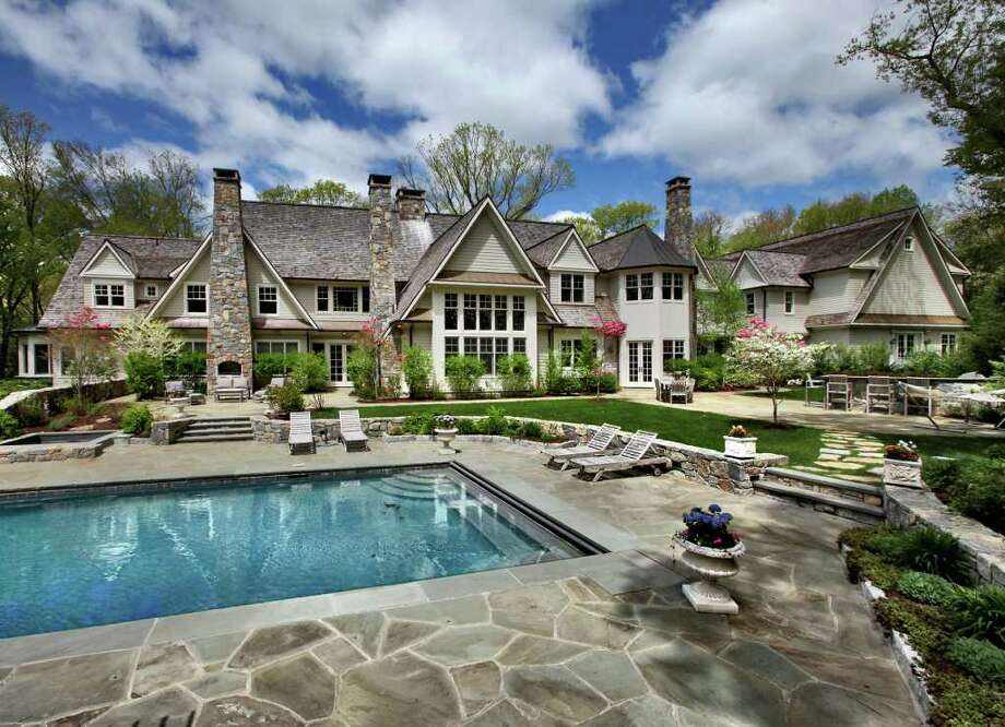 "153 Chichester Road in New Canaan was featured on the NBC's tv show ""Open House NYC."" Photo: Contributed Photo"