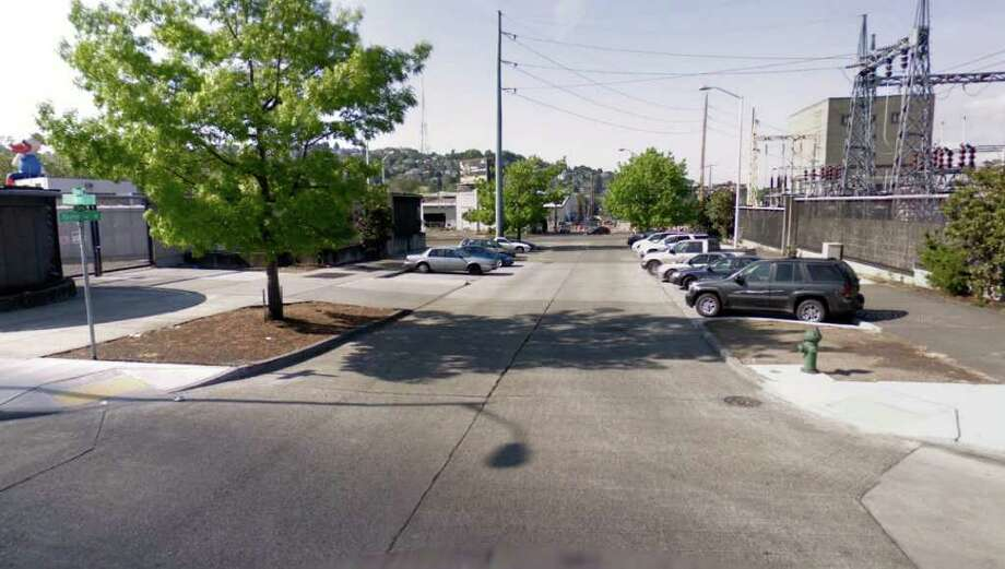 A modern view of the northwest corner of Thomas Street and Taylor Avenue North. Photo: Google Street View