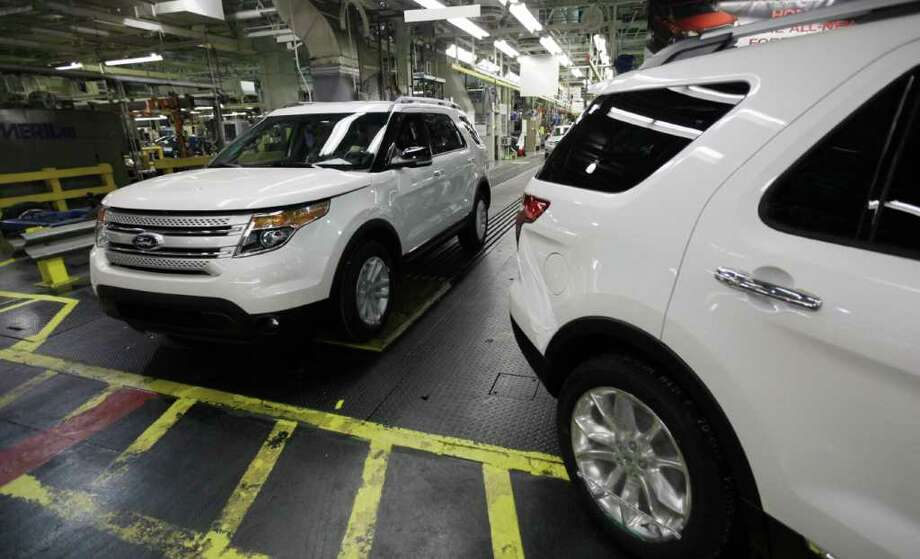 The Explorer continues to be a top seller for Ford Motor Co., as sales of the SUV rose 225 percent in October, while the company's sales rose 6 percent in October. Photo: ASSOCIATED PRESS FILE PHOTO, AP / AP2010