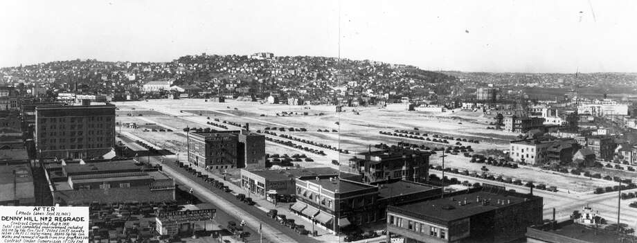 The same view in 1936. Photo: Seattle Municipal Archives
