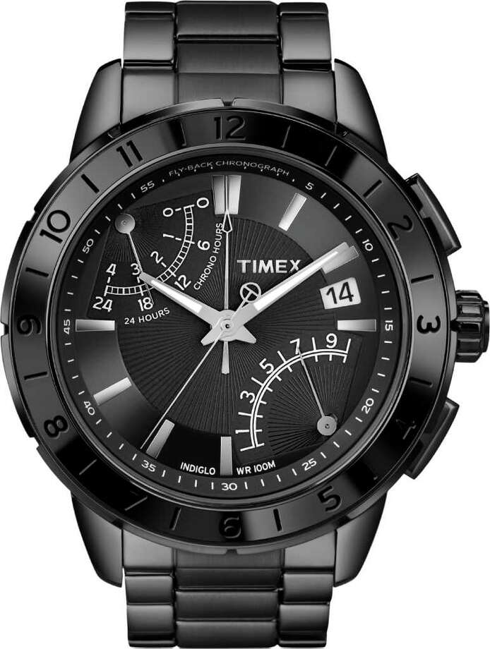 Timex is releasing new classic faces, inclduing this Intelligent Quartz watch; $210 at Nordstrom. Photo: Timex