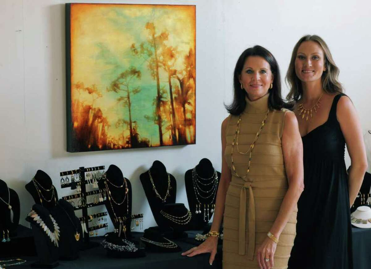COURTESY PHOTO NATURE, FASHION, ART: Are the formula for the Memorial-area mother daughter jewelry team of Henderson Design. Michele and Whitney Henderson took their talents and have made an impact locally and nationally.