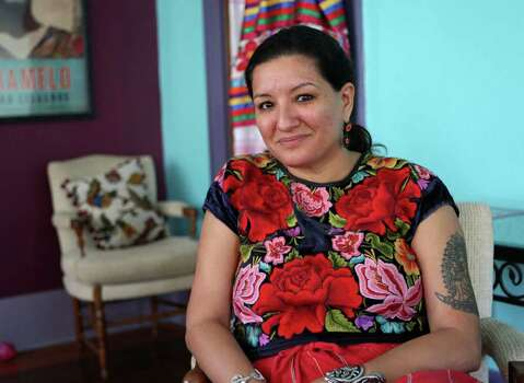 CONEXION:  Sandra Cisneros speaks about the upcoming Macondo Workshops that will include three programs that are open to the public.  HELEN L. MONTOYA/hmontoya@conexionsa.com Photo: HELEN L. MONTOYA, SAN ANTONIO EXPRESS-NEWS / hmontoya@conexionsa.com