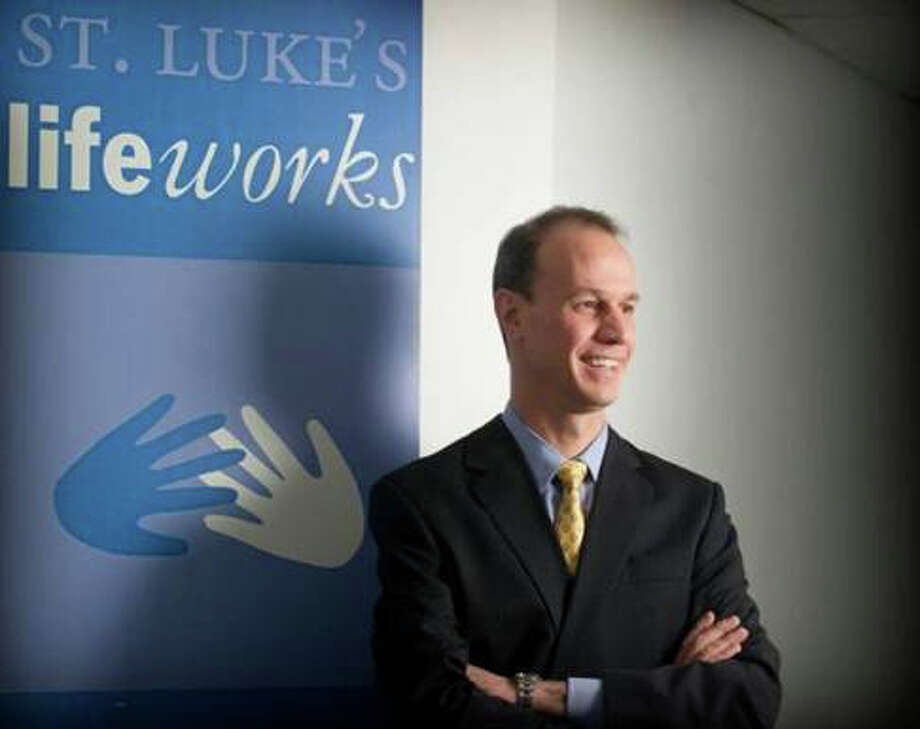 Jason Shapien is CEO of Saint Lukeís Lifeworks in Stamford. Photo: Contributed Photo