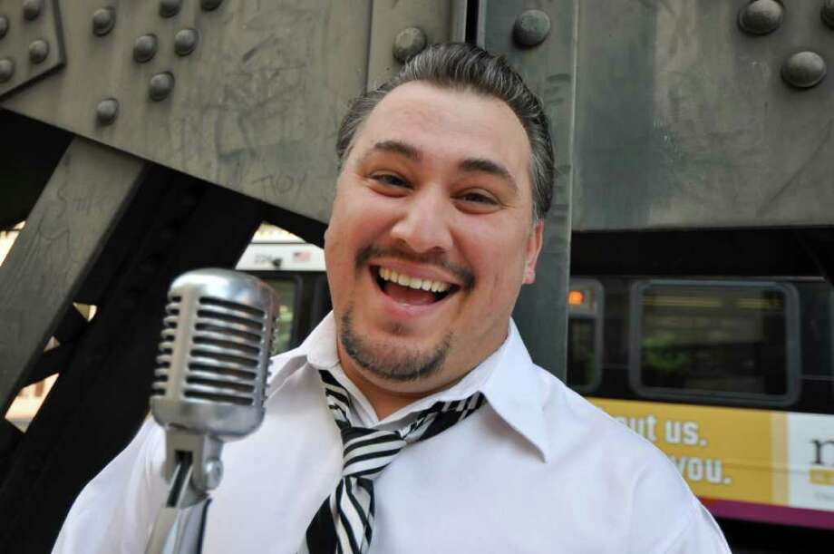 """San Antonio-based comedian Cleto Rodriguez makes his first Comedy Central appearance Nov. 3, 2011 on """"Gabriel Iglesias Presents Stand-up Revolution!"""""""