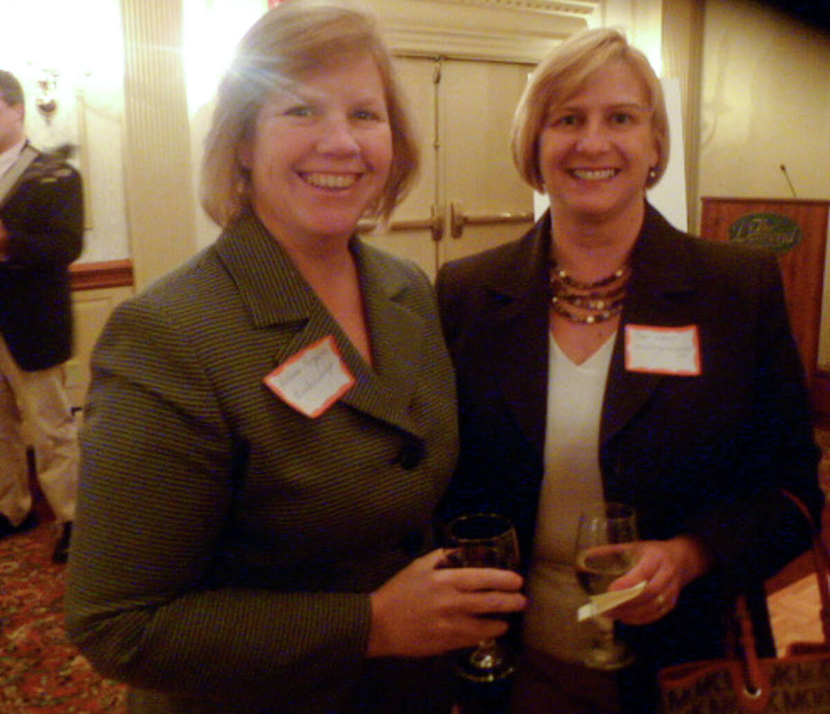 Were you Seen at the Women@Work launch party at The Desmond on Tuesday, Nov. 1, 2011?