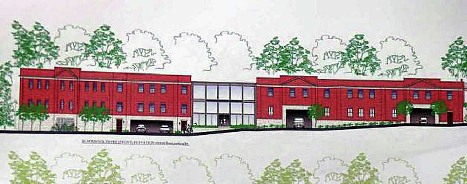 A rendering of a proposed medical office facility on Black Rock Turnpike on property that is now home to the Plant Factory. Photo: File Photo / Fairfield Citizen