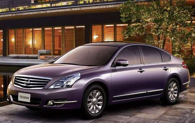 Production of the Nissan Teana sedan, which is derived from the same architecture as the premium Maxima sedan, could be moved soon to the United States for export to other countries. The car is not sold in North America. COURTESY OF NISSAN MOTOR CO. Photo: Nissan Motor Co., COURTESY OF NISSAN MOTOR CO.