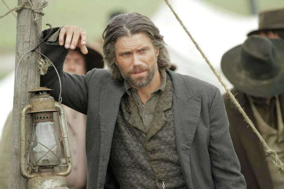 "In this image released by AMC, Anson Mount portrays Cullen Bohannon in the original series ""Hell On Wheels,"" premiering - Sunday at 10 p.m. EST on AMC. Photo: AP"
