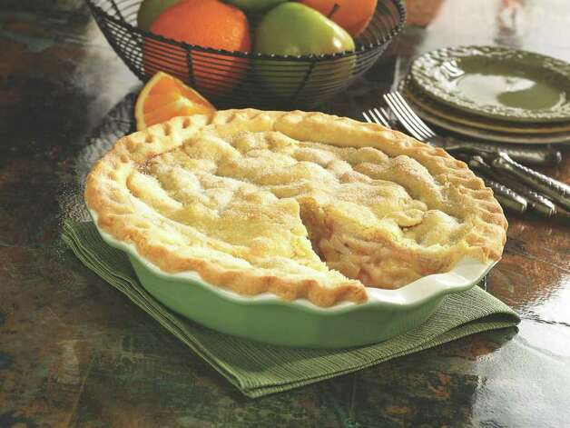 Pie with homemade crust