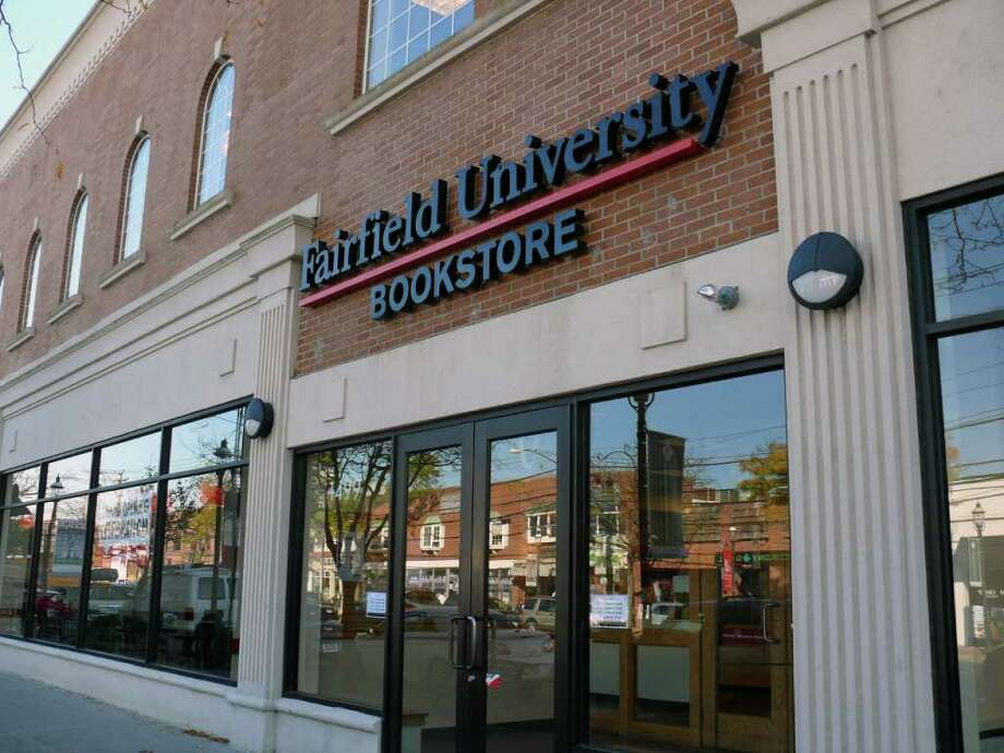 The new Fairfield University Bookstore on the Post Road has a whole weekend full of events planned for its grand opening. Photo: Genevieve Reilly / Fairfield Citizen