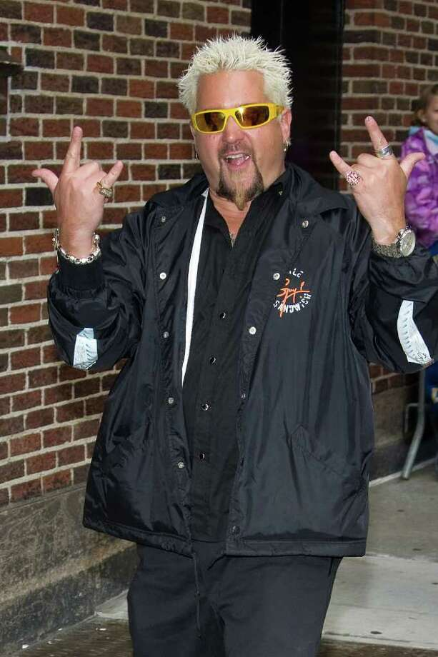ASSOCIATED PRESS FILE PHOTO INDENTITY: Celebrity chef and Food Network star Guy Fieri was born Guy Ferry. Photo: Charles Sykes / AP2009