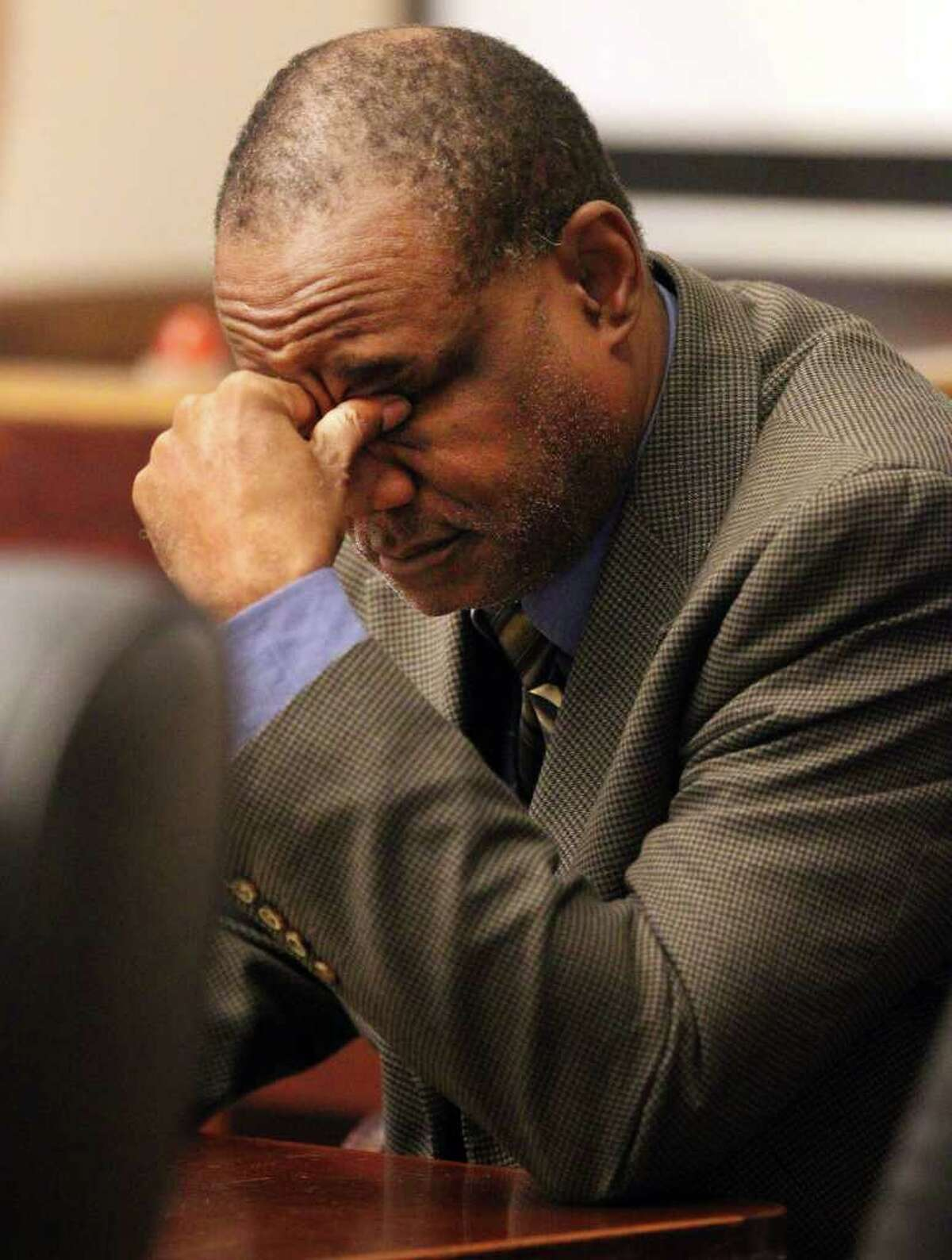 Former Bexar County Democratic Party treasurer Dwayne Adams faces up to 20 years in prison.