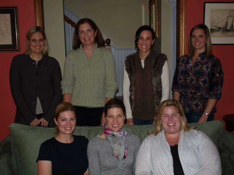The YWCA Cookies, Cocktails and a Cause event committee members, seated from left, Sarah Taylor, Ellyn Coyne (committee chairman) and Katie Kagels. Standing from left, Suzanne Muller, Jean Mazzoli, Kelly Clifford and Elizabeth Hole. Photo: Contributed Photo