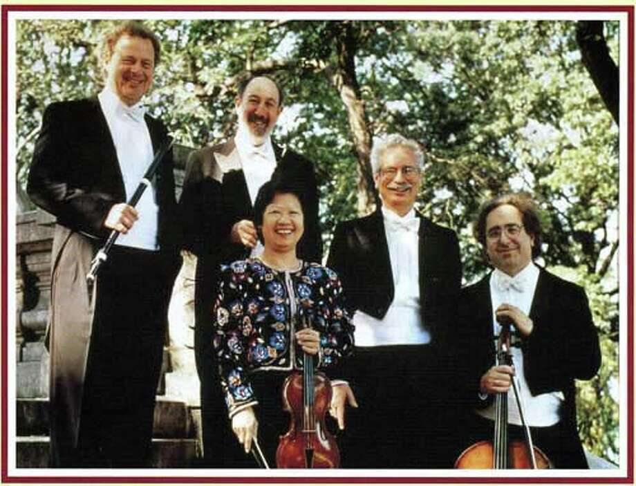Newtown Friends of Music presents the Aulos Ensemble at Edmond Town Hall in Newtown on Sunday, Nov. 6, at 2 p.m. Photo: Contributed Photo