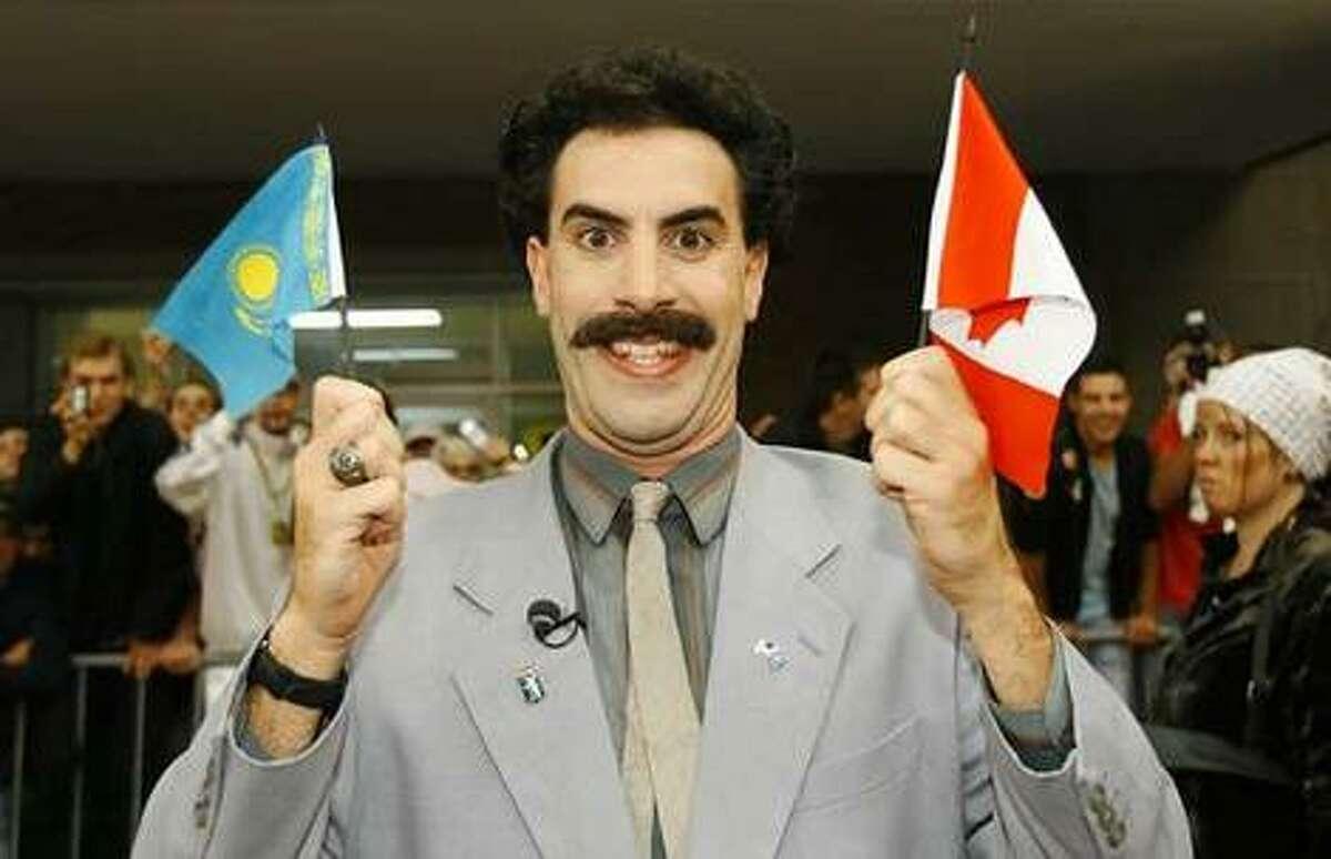 "Borat Sagdiyev (Sacha Baron Cohen) - ""Borat: Cultural Learnings of America for Make Benefit Glorious Nation of Kazakhstan"""