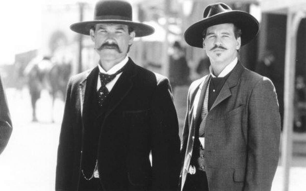 19. Wyatt. (Kurt Russell, left, as Wyatt Earp in the movie