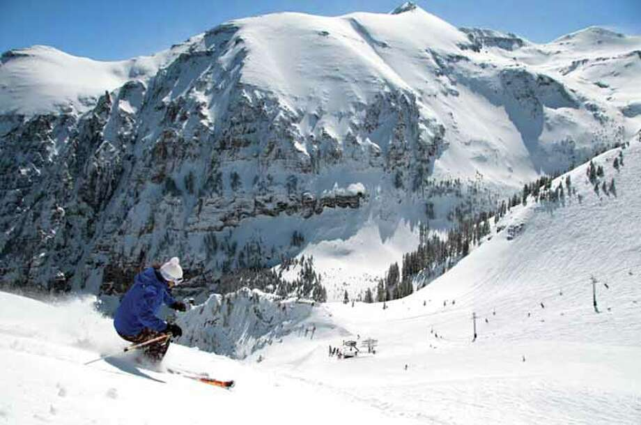 Revelation Bowl at Telluride Ski Resort