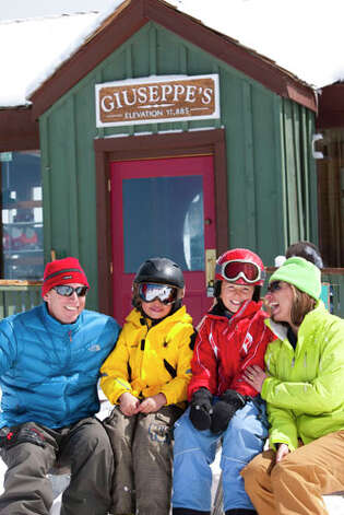 Family Time at Guiseppe's at Telluride Ski Resort