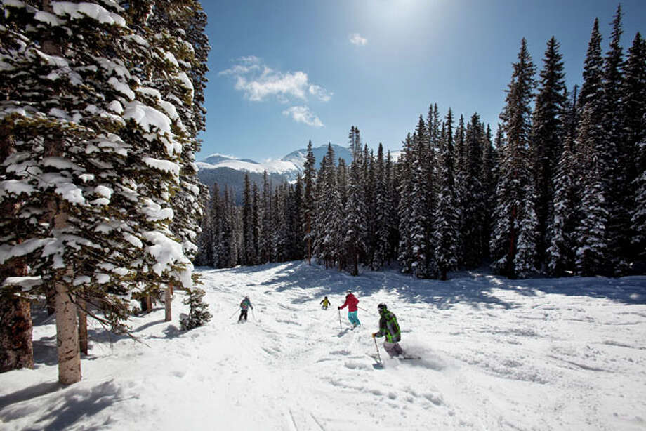 Though Mary Jane is better known for her moguls and trees, a local's secret is that skiers and riders can go top to bottom on cruiser intermediate blue runs. - Winter Park Resort / Ken Redding