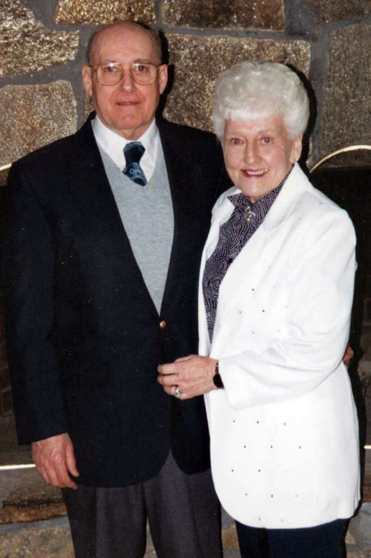 George and Ruth Jarvis in a 1994 family photo. The Jarvises both passed away this week, just a day apart. Ruth died Sunday, and George died on Monday.