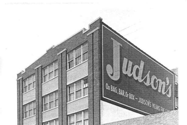 The Judson's Candy Factory building was built around 1920. Before the Judson family bought the business, it was the Jenner Manufacturing Co. Today, the company is known as Judson-Atkinson Candies.