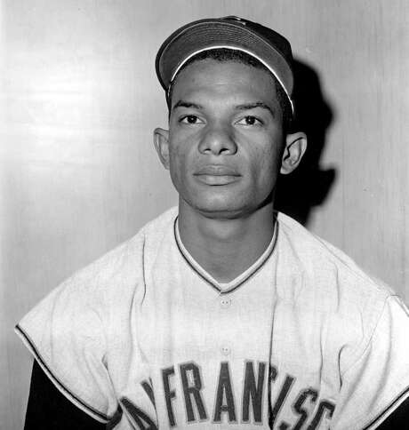 FILE - In this March 8, 1962 file photo, San Francisco Giants' Matty Alou is shown in  in Casa Grande, Ariz. Matty Alou, once part of an all-Alou outfield for the San Francisco Giants with brothers Felipe and Jesus, has died in his native Dominican Republic. He was 72. (AP Photo/File) / AP1962