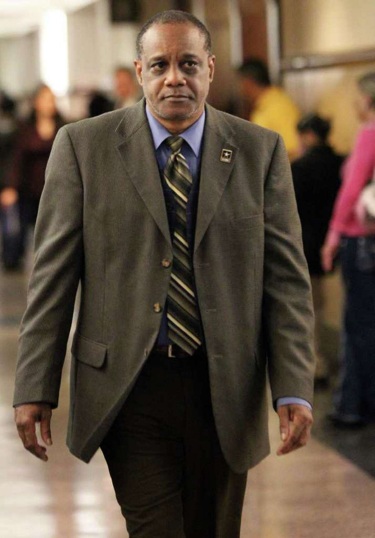 Former Bexar Democratic Party treasurer Dwayne Adams was convicted of theft and misapplication of fiduciary property.
