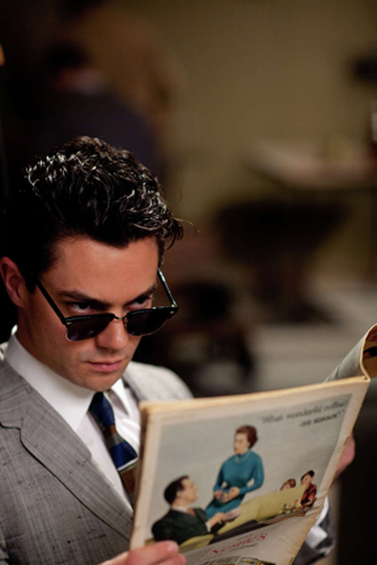 Dominic Cooper as Milton Greene in