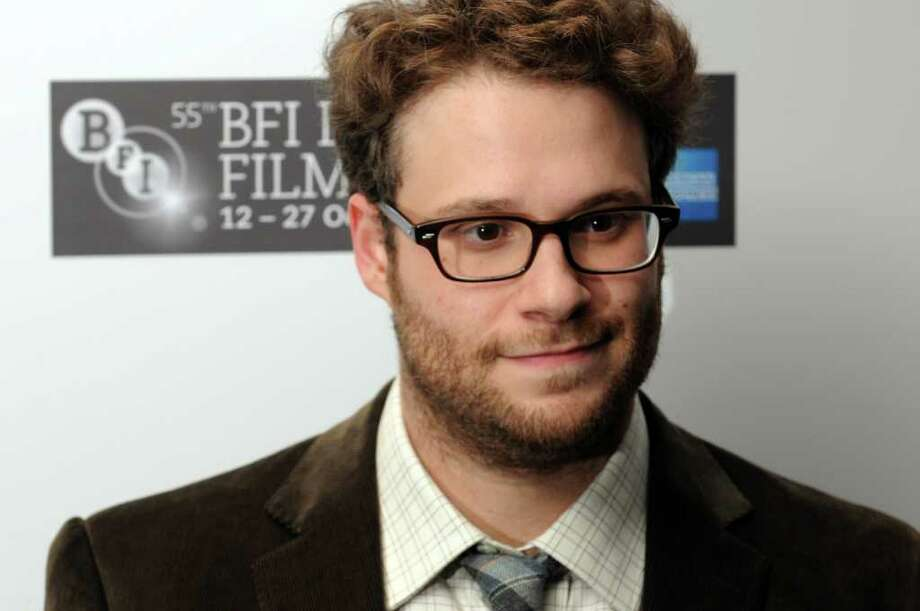 Seth Rogen donated the maximum amount allowed to the DNC. Photo: Eamonn McCormack, Getty / 2011 Getty Images