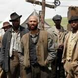 """Hell on Wheels: Season 3"" – Former Confederate soldier Cullen Bohannon seeks his wife's killer as post-Civil War America struggles to rebuild its identity. His quest traverses the history of Reconstruction, peopled with railroad bosses, emancipated slaves and immigrants. Available July 19"