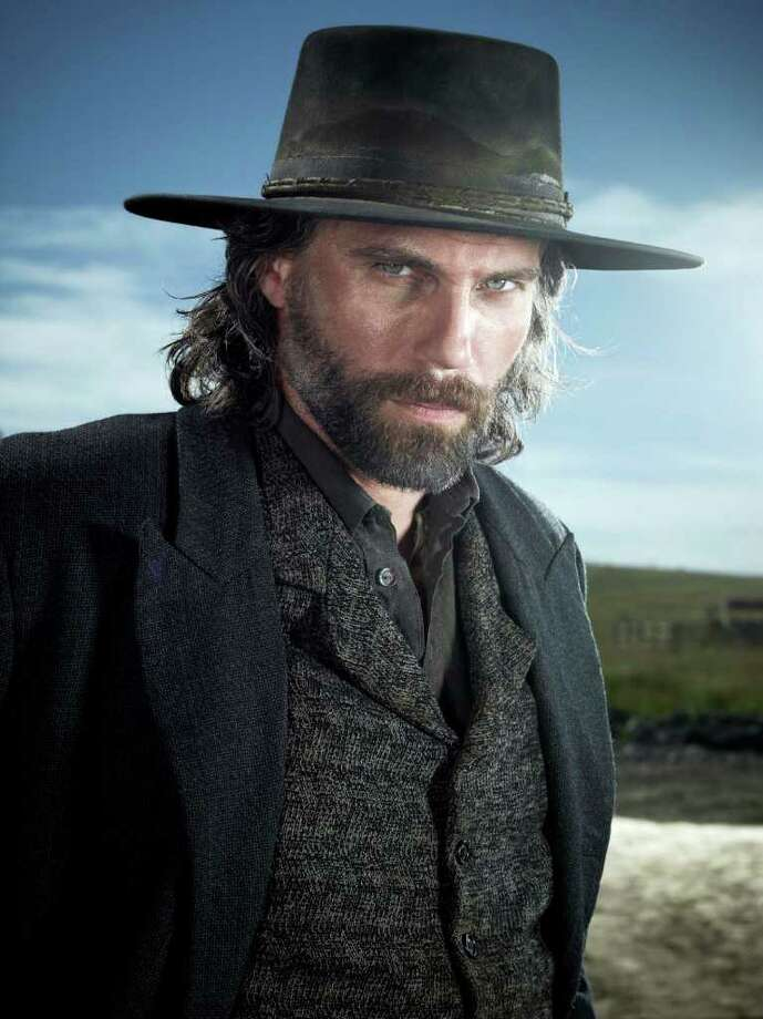 "Anson Mount stars as Cullen Bohannon in AMC's ""Hell on Wheels"" about the transcontinental railroad. (Frank Ockenfels/AMC/MCT) Photo: Frank Ockenfels"