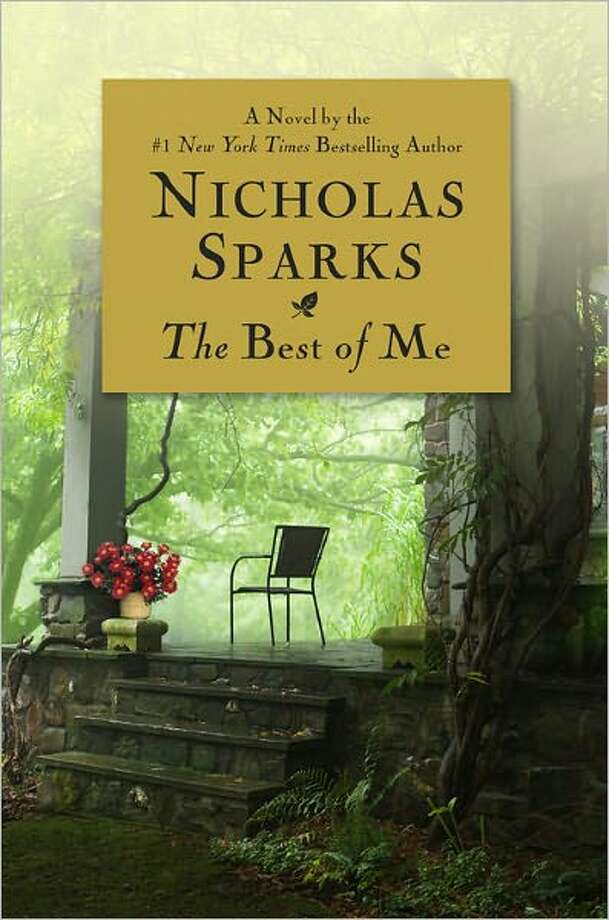 Cover for The Best of Me by Nicolas Sparks Photo: Xx