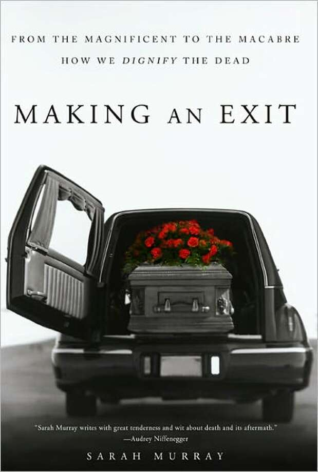 Cover for Making an Exit by Sarah Murray Photo: Xx