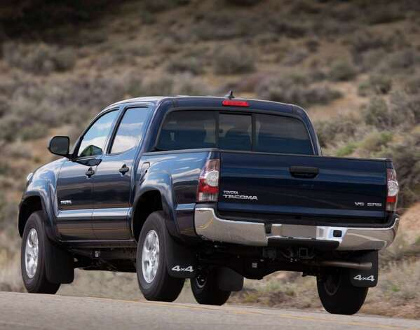 San Antonio-built Tacoma pickups are among the vehicles that Toyota exports. This is the restyled 2012 model. The Tacoma already is the best-seller in its class. COURTESY OF TOYOTA MOTOR SALES U.S.A. Photo: Toyota Motor Sales U.S.A., COURTESY OF TOYOTA MOTOR SALES U.S.A.