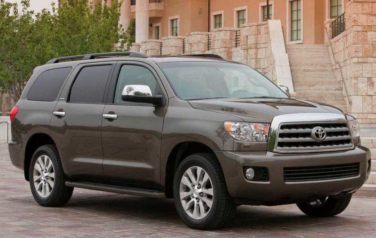 3. Toyota Sequoia $1,084 below the state average