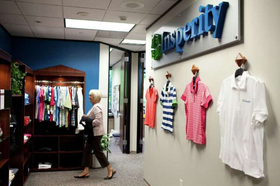 ERIC KAYNE : FOR THE CHRONICLE COMPANY STORE: Insperity's headquarters is in the Kingwood area, but it has other offices across the Houston area, and nearly four dozen elsewhere in the U.S. Photo: Eric Kayne / © 2011 Eric Kayne
