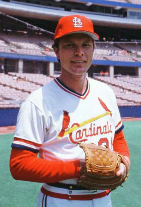 FILE - This is a July 6, 1982 file photo showing St. Louis Cardinals baseball player Bob Forsch. Forsch, who threw two no-hitters for the Cardinals and is the third-winningest pitcher in team history, died Thursday, Nov. 3, 2011 at his home near Tampa, Fla. He was  61. (AP Photo/James Finley, File) Photo: James Finley / AP